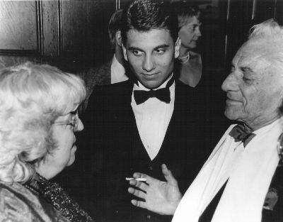Sarah Caldwell, David Spiro and Leonard Bernstein