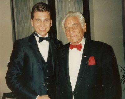 David Spiro and Leonard Bernstein