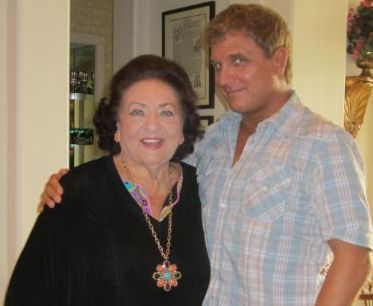 Virginia Zeani and David Spiro